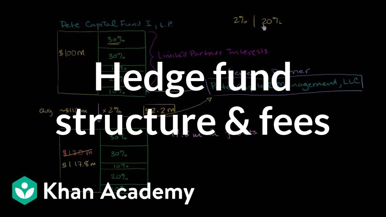 Hedge fund structure and fees (video) | Khan Academy