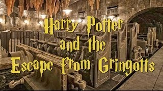 Harry Potter and the Escape from Gringotts ride - Concept art for Diagon Alley, Universal Orlando