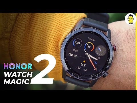 Honor Watch Magic 2 unboxing and hands-on review   better than Fitbit Versa 2?