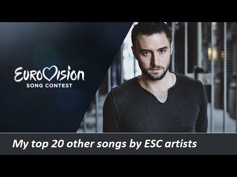 My top 20 other songs by Eurovision artists (1956 - 2017)