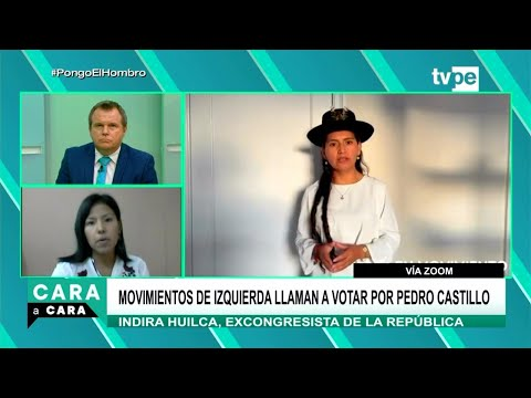 Cara a Cara | Indira Huilca, excongresista