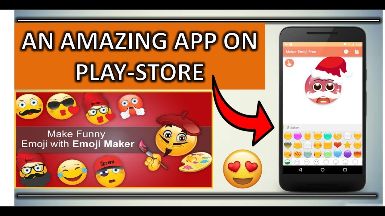 how to make an emoji app