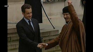 Eski Fransa Cumhurbaşkanı Sarkozy'ye yolsuzluk gözaltısı
