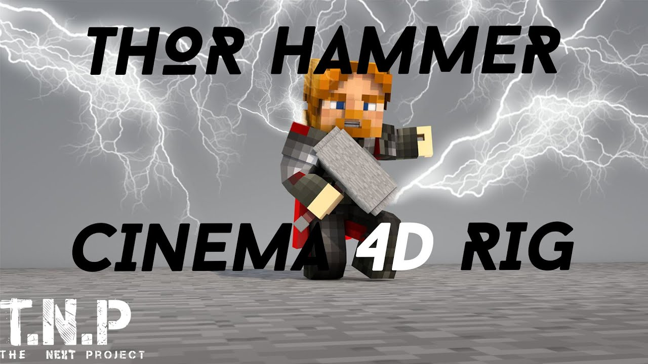 thor hammer rig cinema 4d youtube