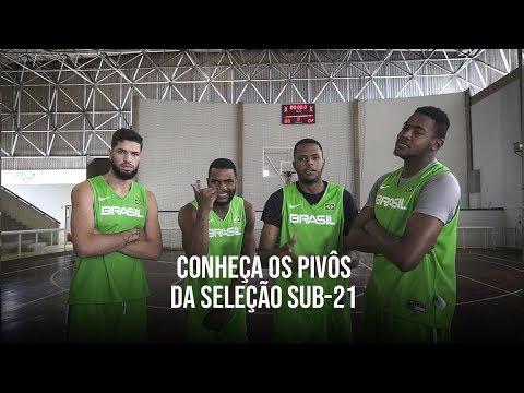 Pivôs Seleção Brasileira sub-21