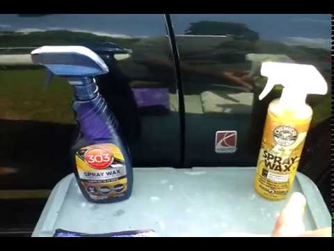 303 spray wax vs chemical guys blazin hot banana wax