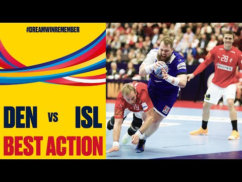 Unstoppable Kristjansson chips in a delightful no-look shot | Day 3 | Men's EHF EURO 2020