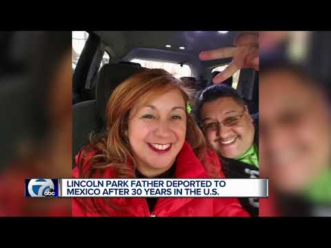 Metro Detroit father deported to Mexico after 30 years living in the US