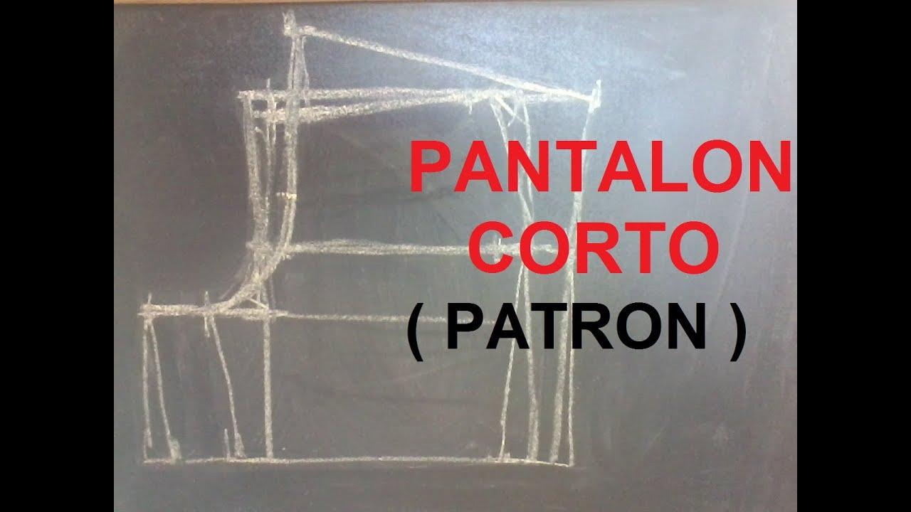 PATRON DE PANTALONES CORTOS