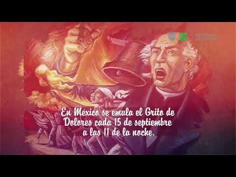 210 Aniversario del inicio de la Independencia de México.