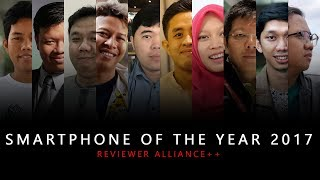 SMARTPHONE OF THE YEAR 2017 By Reviewer Alliance