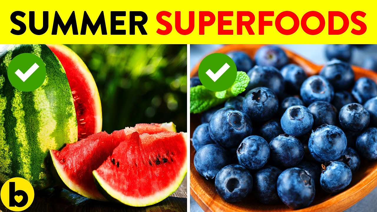 15 Superfoods for a Super Summer!