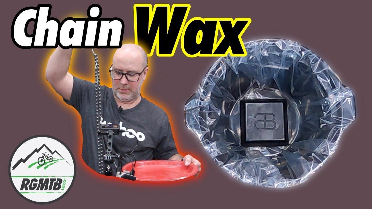 absoluteBLACK GRAPHENWax Hot Melt Chain Wax Lubricant