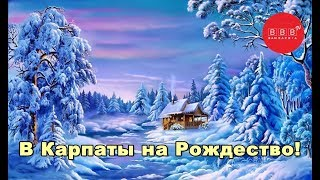 Лучшие туры на Рождество: в Закарпатье из Одессы. Отдых в Украине!