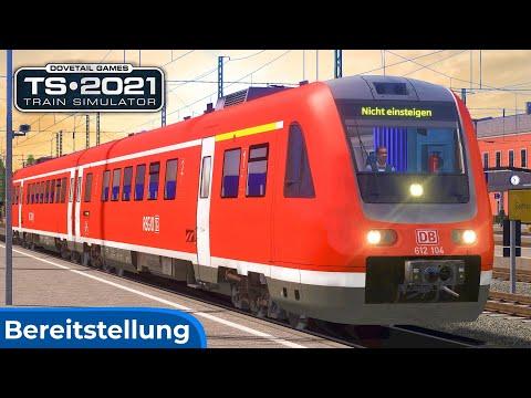 RANGIERAUFTRAG | RegioSwinger - BR 612 & Salzburg - Mühldorf | TRAIN SIMULATOR 2021 | Bereitstellung |