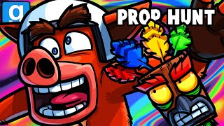 Gmod Prop Hunt Funny Moments - Wildcat Returns to Gmod! (BOOGADABA!)