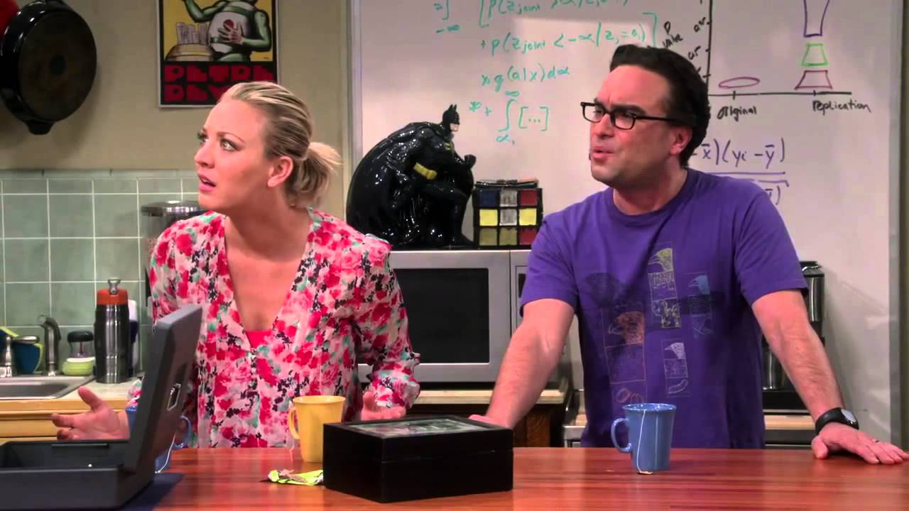 The Big Bang Theory - Hidden Engagement Ring - YouTube