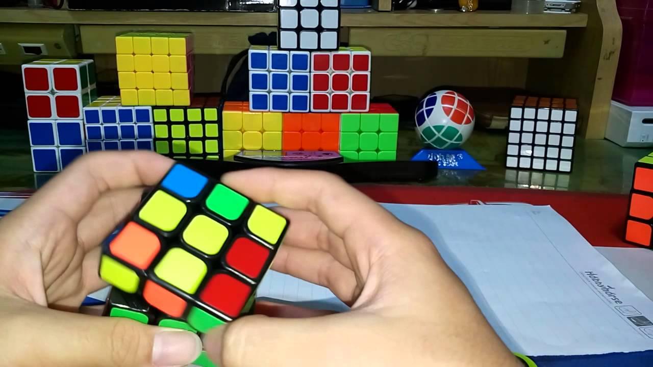 魔術方塊教學ep.3第二層解法 - YouTube