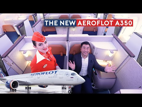 The First Aeroflot A350 Delivery