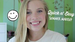 Quick Summer Makeup Look! Thumbnail