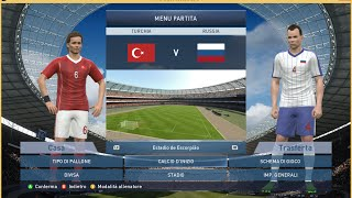 #BetMatch Turkey  vs Russia  HD [Pes15 pc full gameplay]