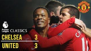 Chelsea 3-3 Manchester United (11/12) | Premier League Classics | Manchester United