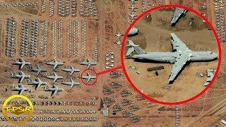 10 สถานที่สุดแปลกที่มองเห็นจาก Google Earth (จริงดิ)