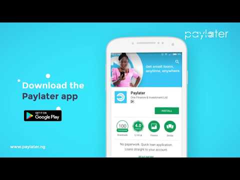 Paylater: Quick loans on your Android device