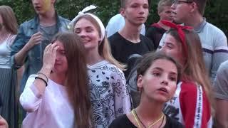 ДЮСШ в Велегоже Косте, дискотека 3 08 2018г