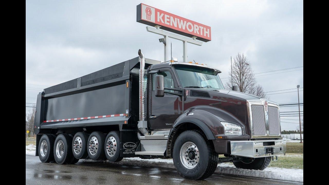 NEW 2019 Kenworth T880 6 Axle Dump Truck - YouTube Kenworth Dump Trucks Pics