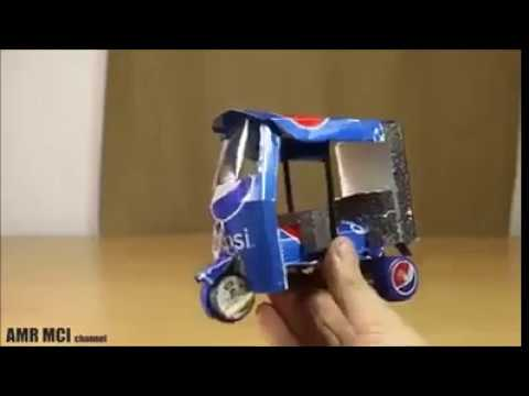 Download How to make Electric Rickshaw out of Pepsi Cans