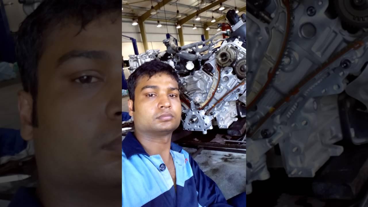 Vk56 engine timing