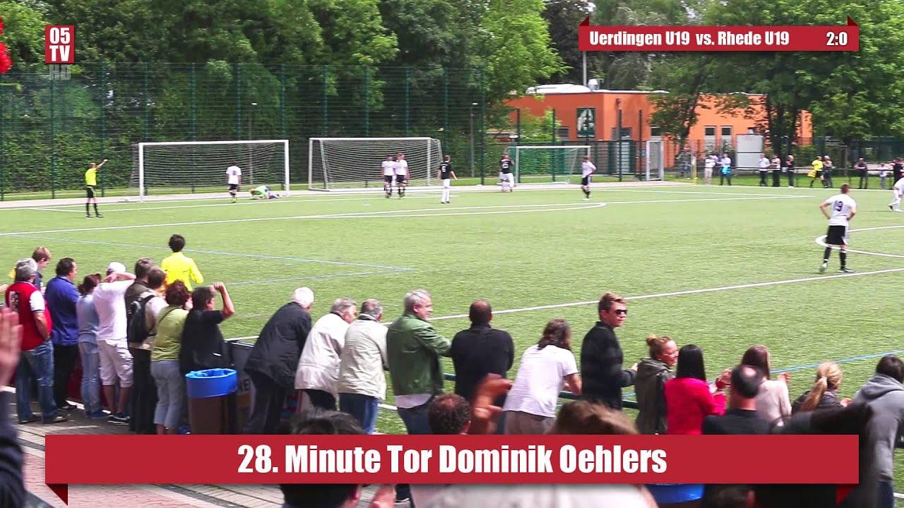 KFC Uerdingen 05 U19 vs. VfL Rhede 1920 U19 - YouTube