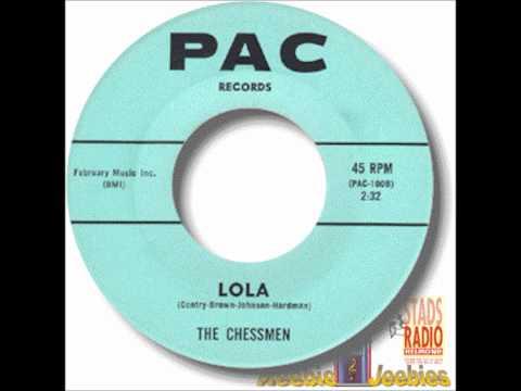 CHESSMEN - LOLA / I BELIEVE - PAC 100 - 1961