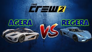 "The Crew 2 Koenigsegg Regera VS Koenigsegg Agera (The Crew 2 ""Testing Cars #1)"