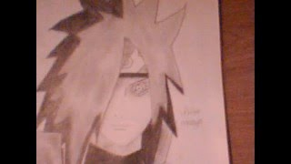 How to draw - Uchiha Madara