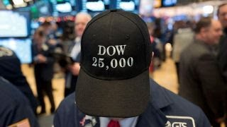 Media coverage of Trump in focus as Dow breaks records