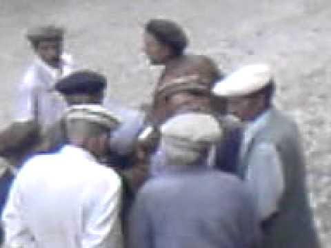 kalash dancing at deadbody in bamburit chitral by chohan
