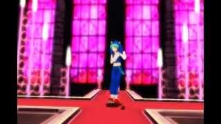 MMD: Hatsune Miku(Sonic Style) ~ World is Mine ~