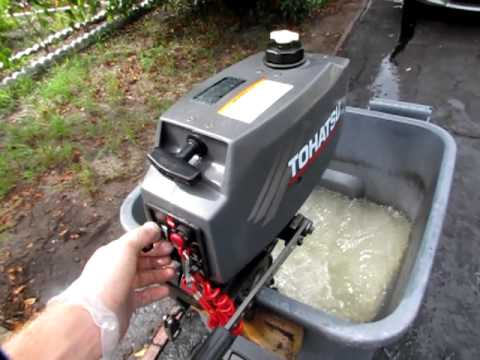 2004 Tohatsu 2 5hp Outboard Motor Youtube
