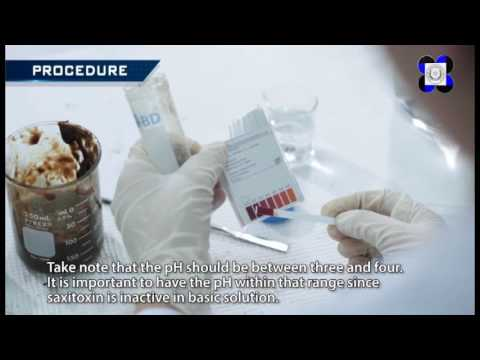 PSP Toxin Extraction And Sample Preparation