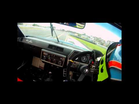 Nissan Skyline DR30 Onboard footage - GROUP A