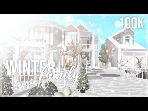 bloxburg-|-winter-family-home