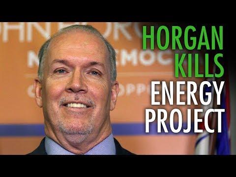 """Horgan killing LNG project a """"huge win"""" for OPEC Dictators"""