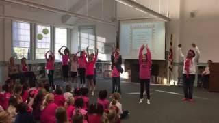 4th Grade dances to Daya