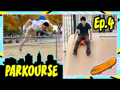Parkourse at the Skate Park! (Ep.4)