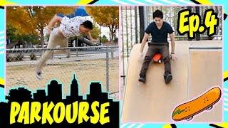 Parkourse at the Skate Park! (Ep.4)