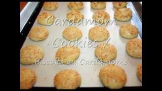 Gâteaux Marocains Au Cardamome/moroccan Cardamom Cookies