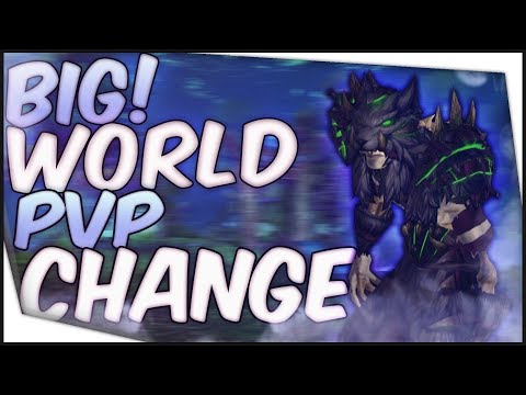 Shadow Priest PvP - HUGE WORLD PVP CHANGES!
