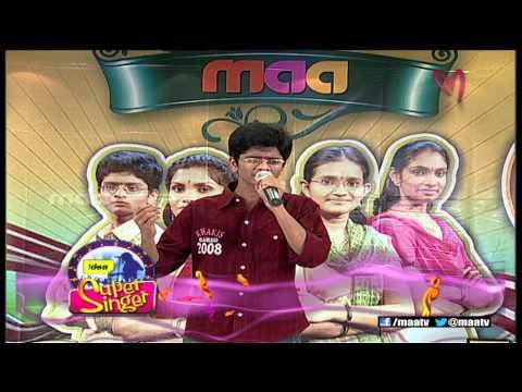 Super Singer 1 Episode 28 : Lokeswar Performance ( Sumam Prathi Sumam )